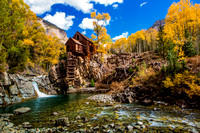 Crystal Mill , Colorado